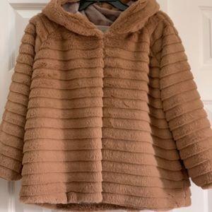 Jackets & Blazers - Faux Fur Swing- Style Jacket...NWOT